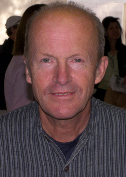 Jim Crace at the 2009 Texas Book Festival.