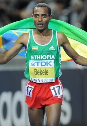 English: Kenenisa Bekele at the World Champion...