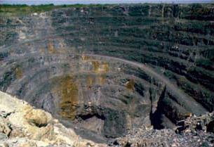Volcanogenic massive sulfide ore deposit