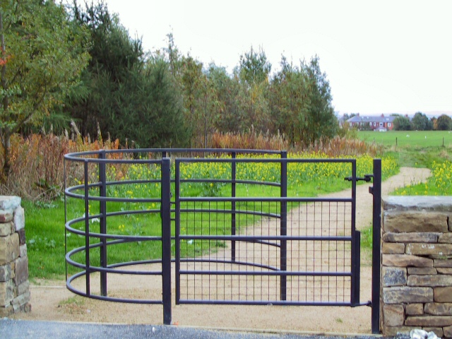 File Kissing Gate At Owd M Edge Geograph Org Uk 63627
