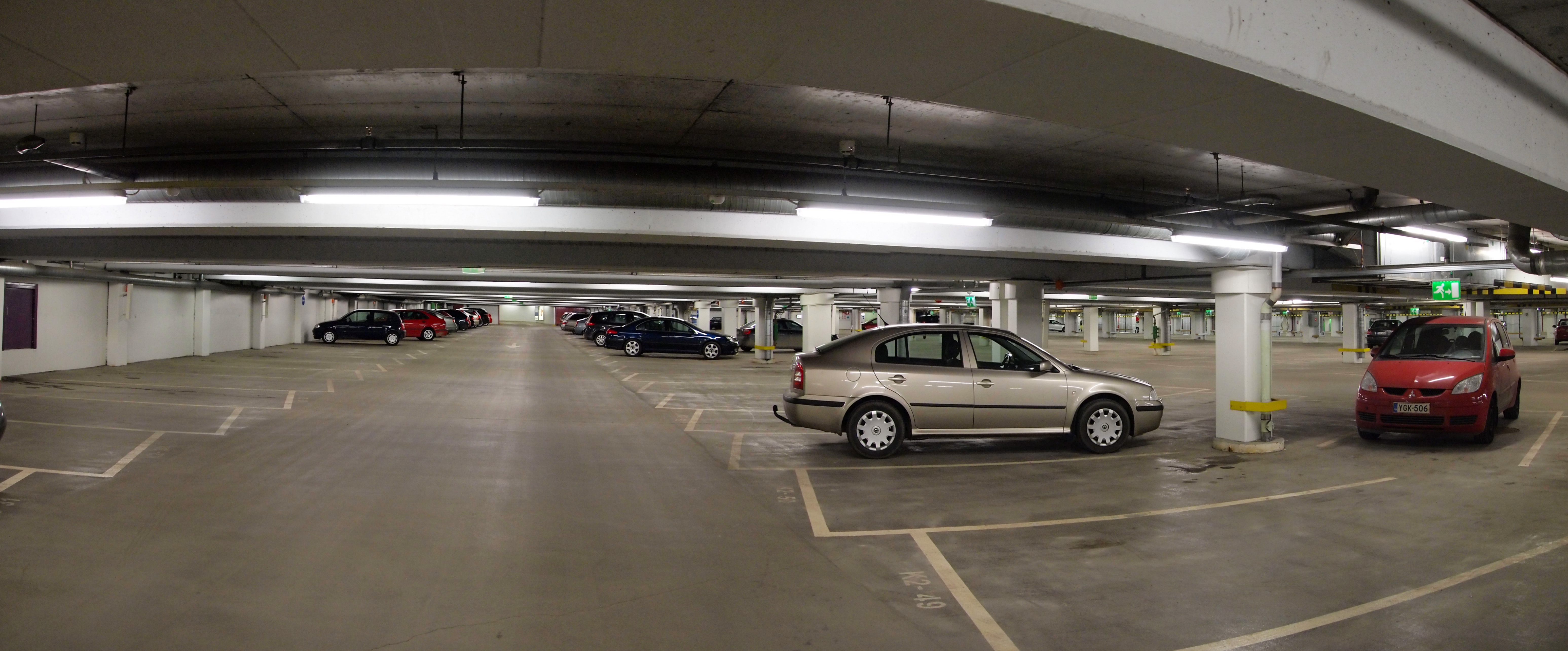 Underground Parking Garage Parking Lot Survive The Nights