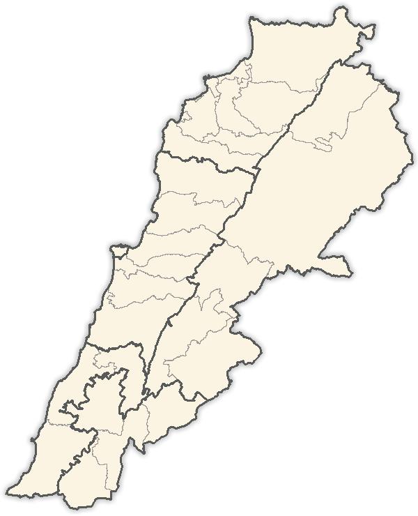 أقضية لبنان ويكيبيديا