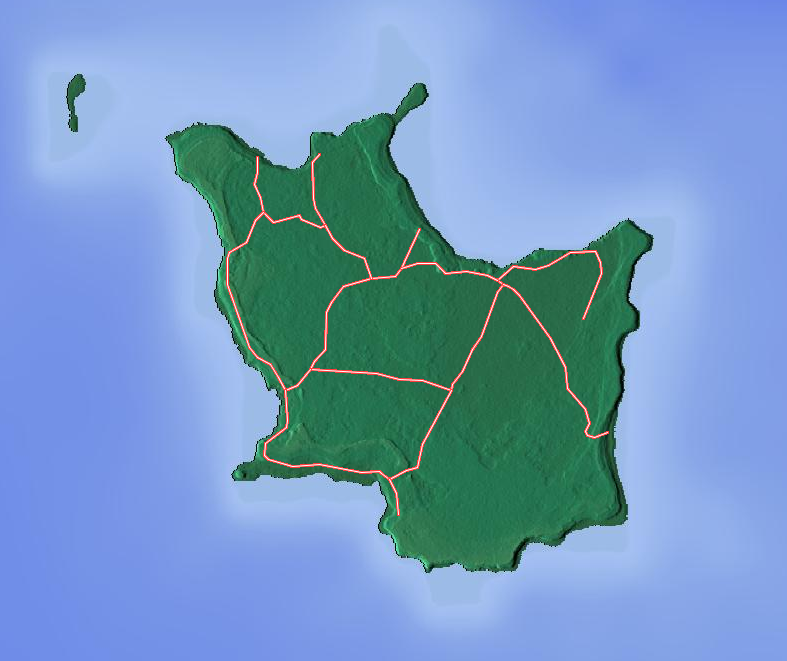 Map Of Mare Island New Caledonia