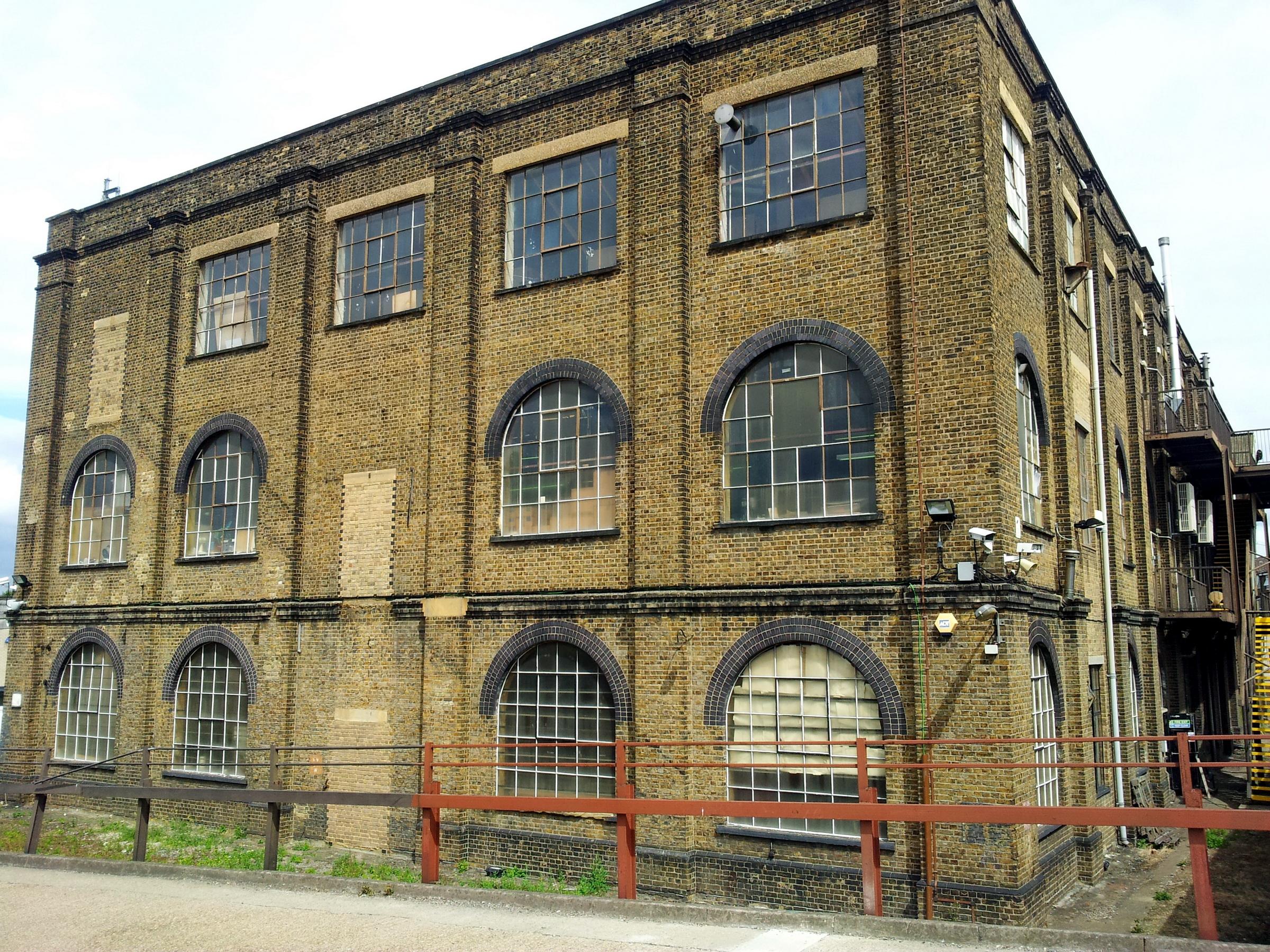 File London Woolwich Dockyard Old Factory Building 1 Jpg