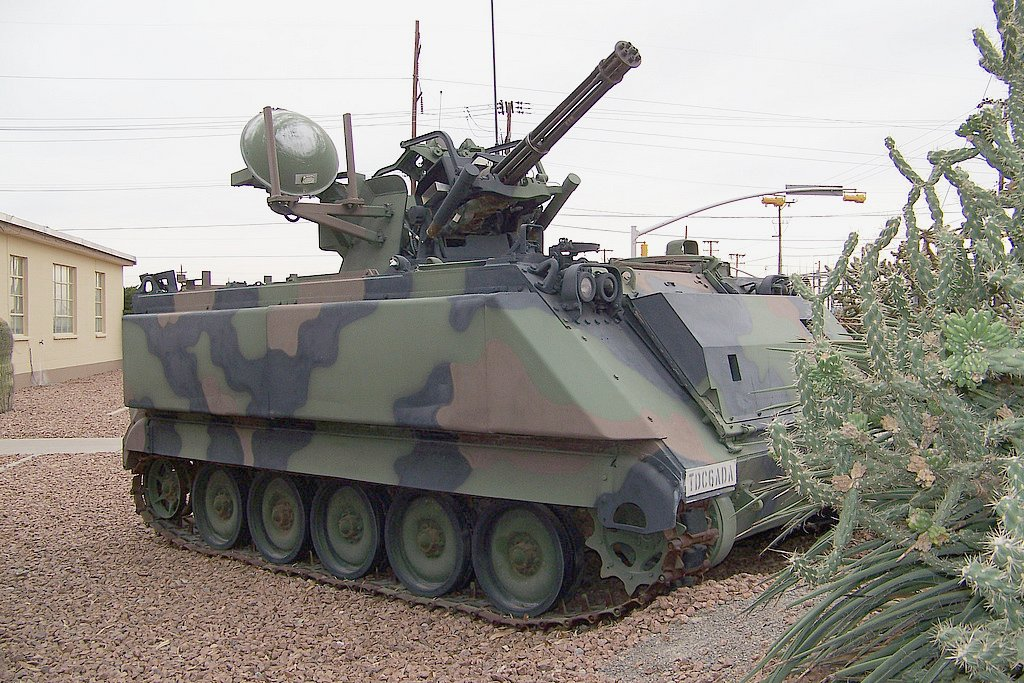 Perusahaan Israel Akan Modernisai Spaag M163 Thailand Jakartagreater