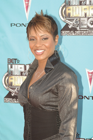 MC Lyte at the BET Hip Hop Awards in Atlanta. ...