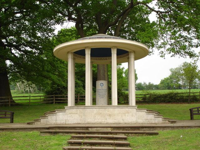 Magna Carta memorial, Runnymede - geograph.org.uk - 1264714
