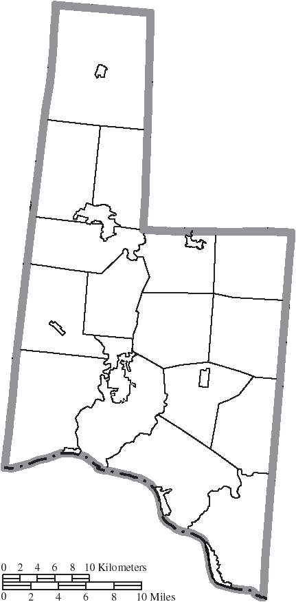 File Map Of Brown County Ohio No Text Municipalities Distinct Png