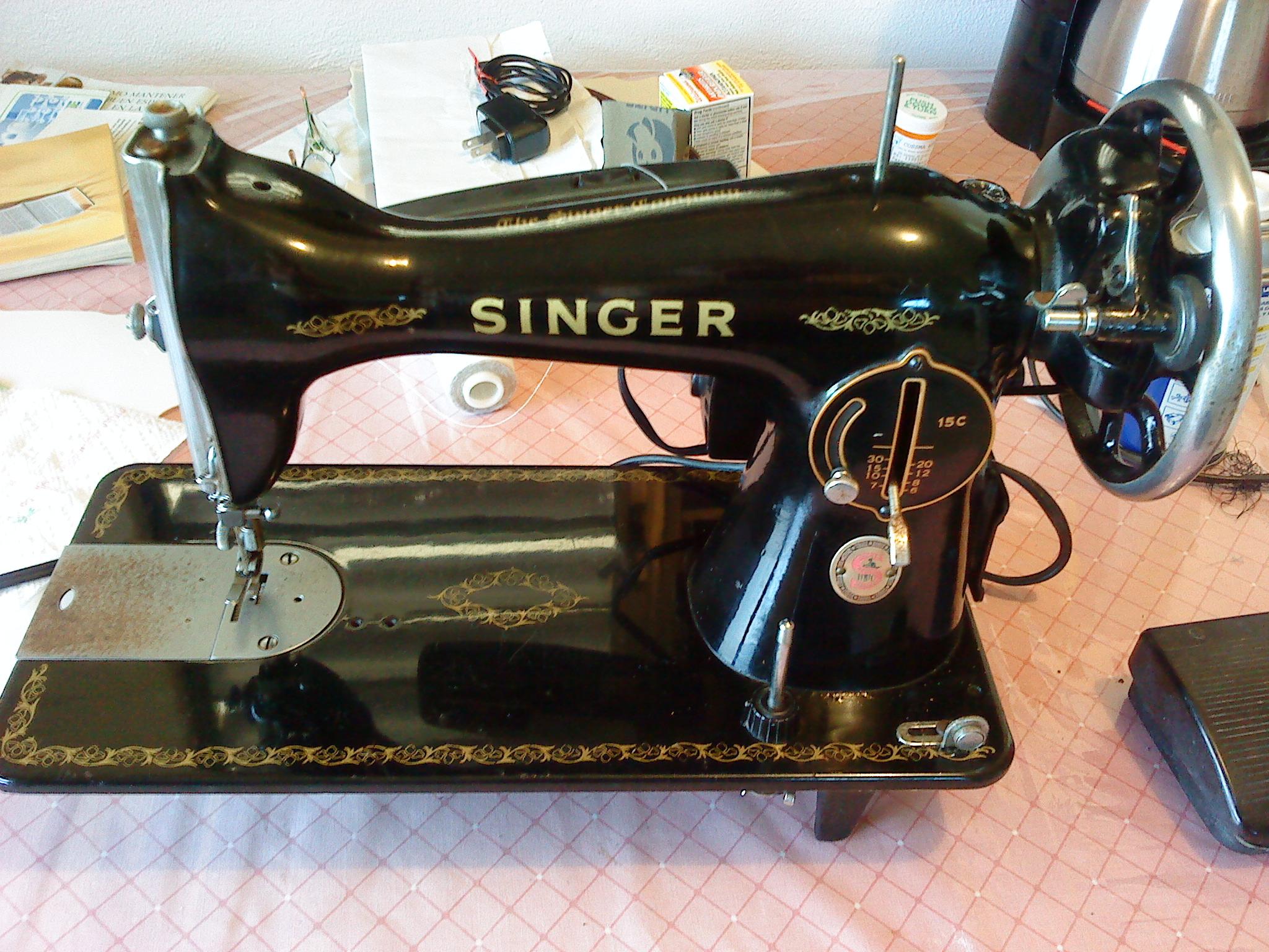 Maquina de coser antigua alfa 67476709 532 399 - Maquinas de coser ladys ...