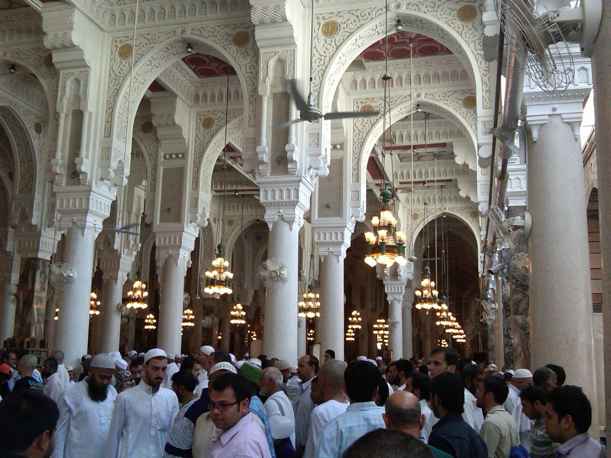 Inside Masjid Al Haram Www Pixshark Com Images