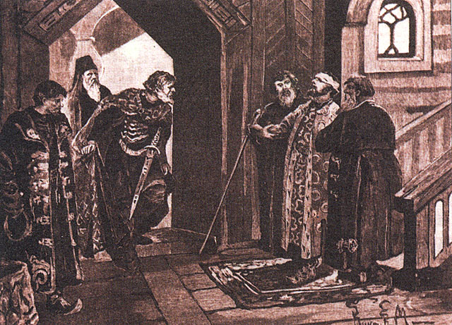 File:Meeting of Dmitry Shemyaka with Vasily II..jpg