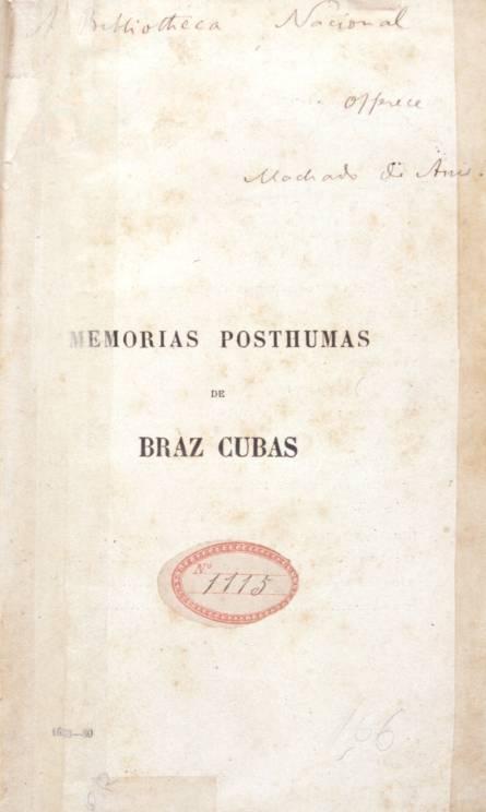 Memórias Póstumas De Brás Cubas Wikipédia A Enciclopédia Livre