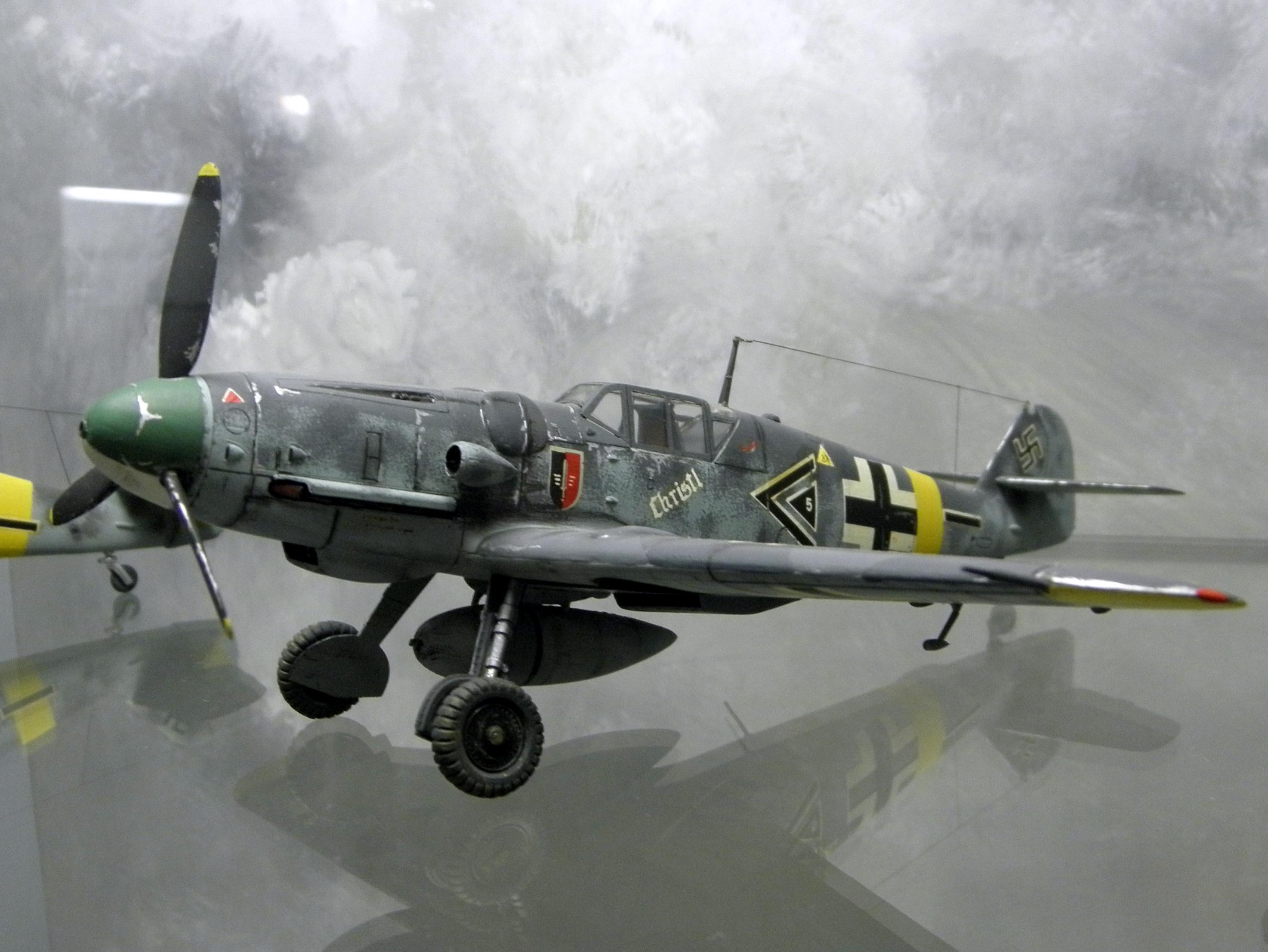File Messerschmitt Bf 109g Jg 52 Gerhard Barkhorn Modello