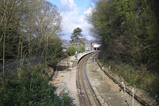 Metropolitan Line railway at Chesham - geograph.org.uk - 131684