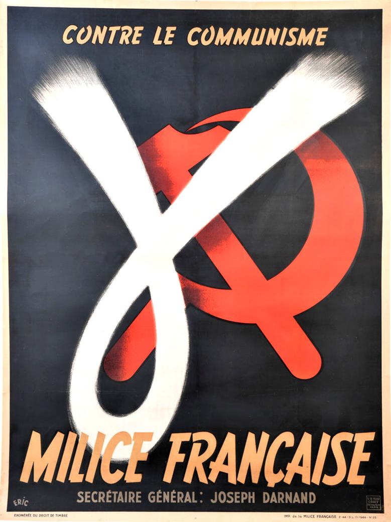 Néo-Régime de Vichy  (et néo-monstres) Milice_poster