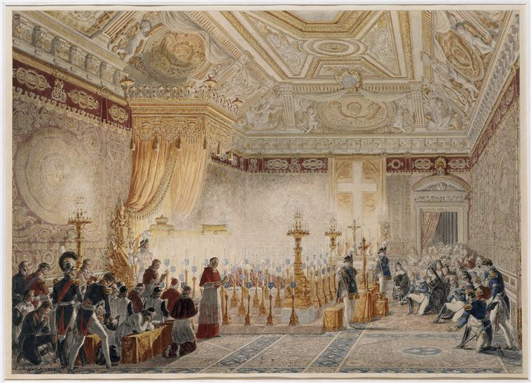 Mort Louis XVIII Tuileries