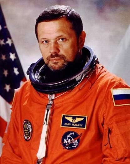 Cosmonaut Boris V. Morukov, Russian Space Agency (RSA), STS-106 mission specialist, NASA photo Source: Wikipedia (spaceflight.nasa.gov killed 25 Feb 2021) Morukov32.jpg