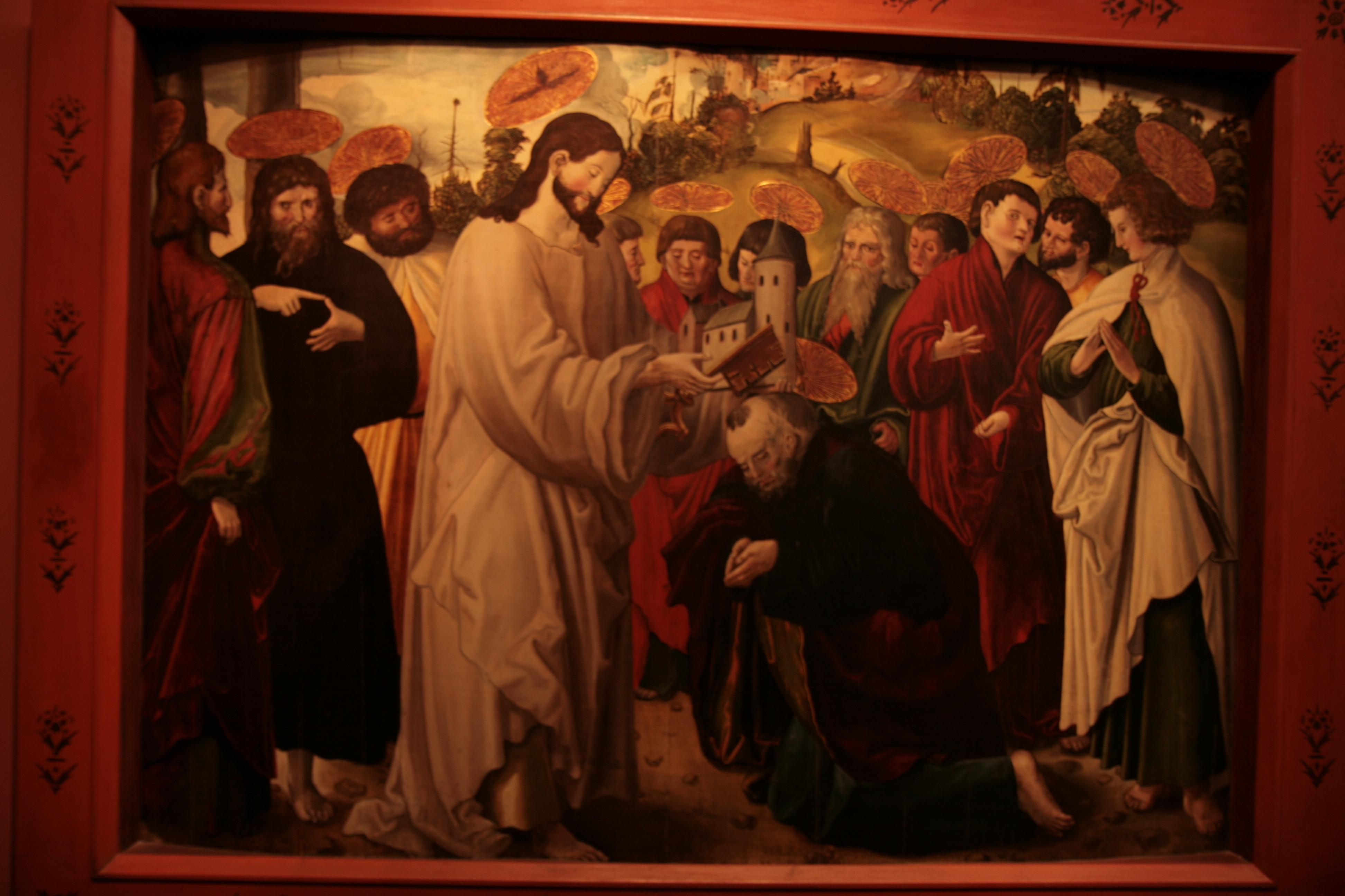 File:Niklaus Manuel Deutch Призвание апостола Петра (1516-1518, Zurich).