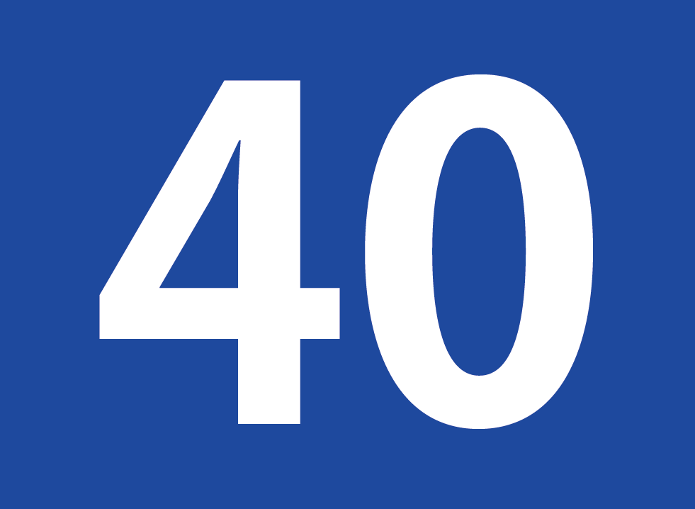 File:Number 40.png - Wikimedia Commons 40 Clipart