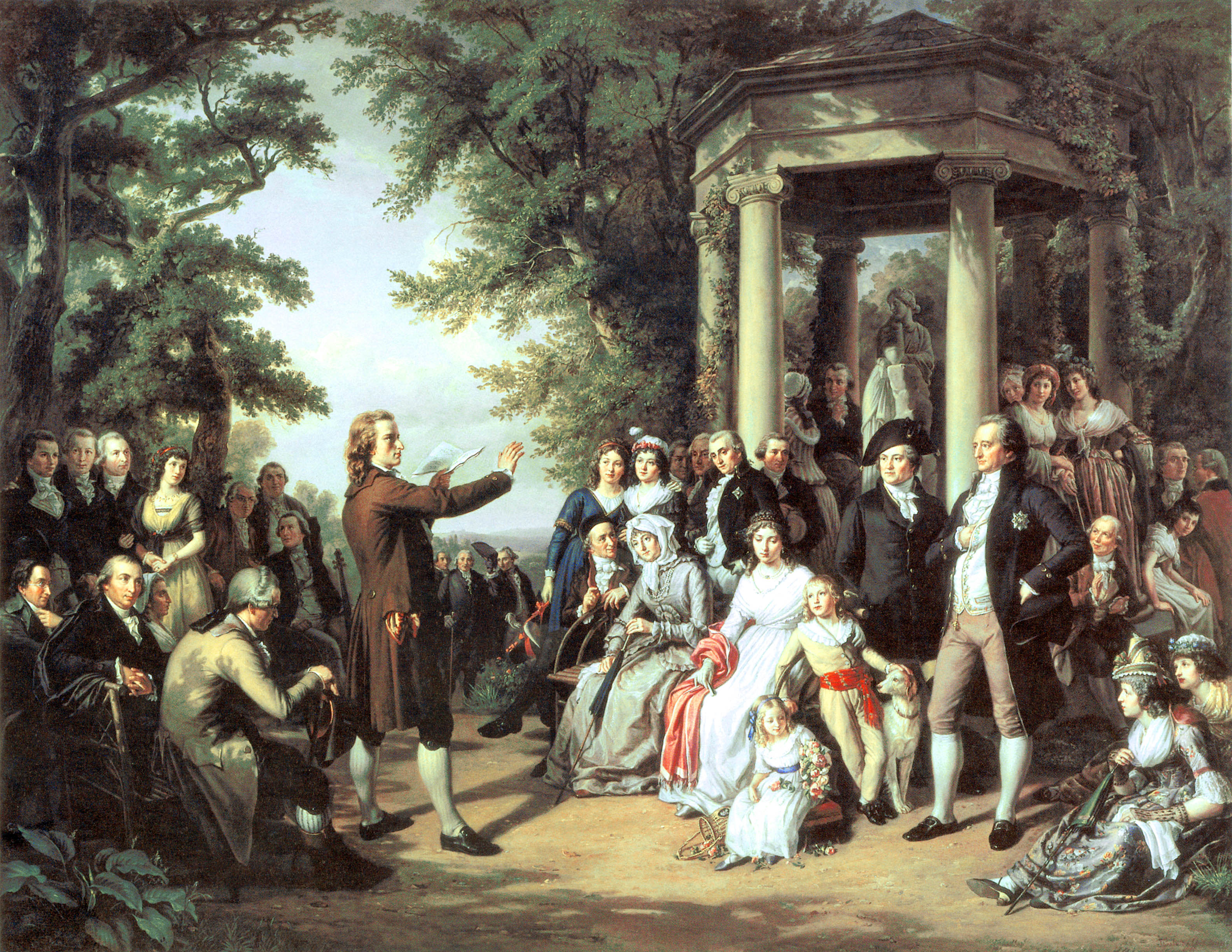 an overview of the 18th century france and the enlightenment period by different artists