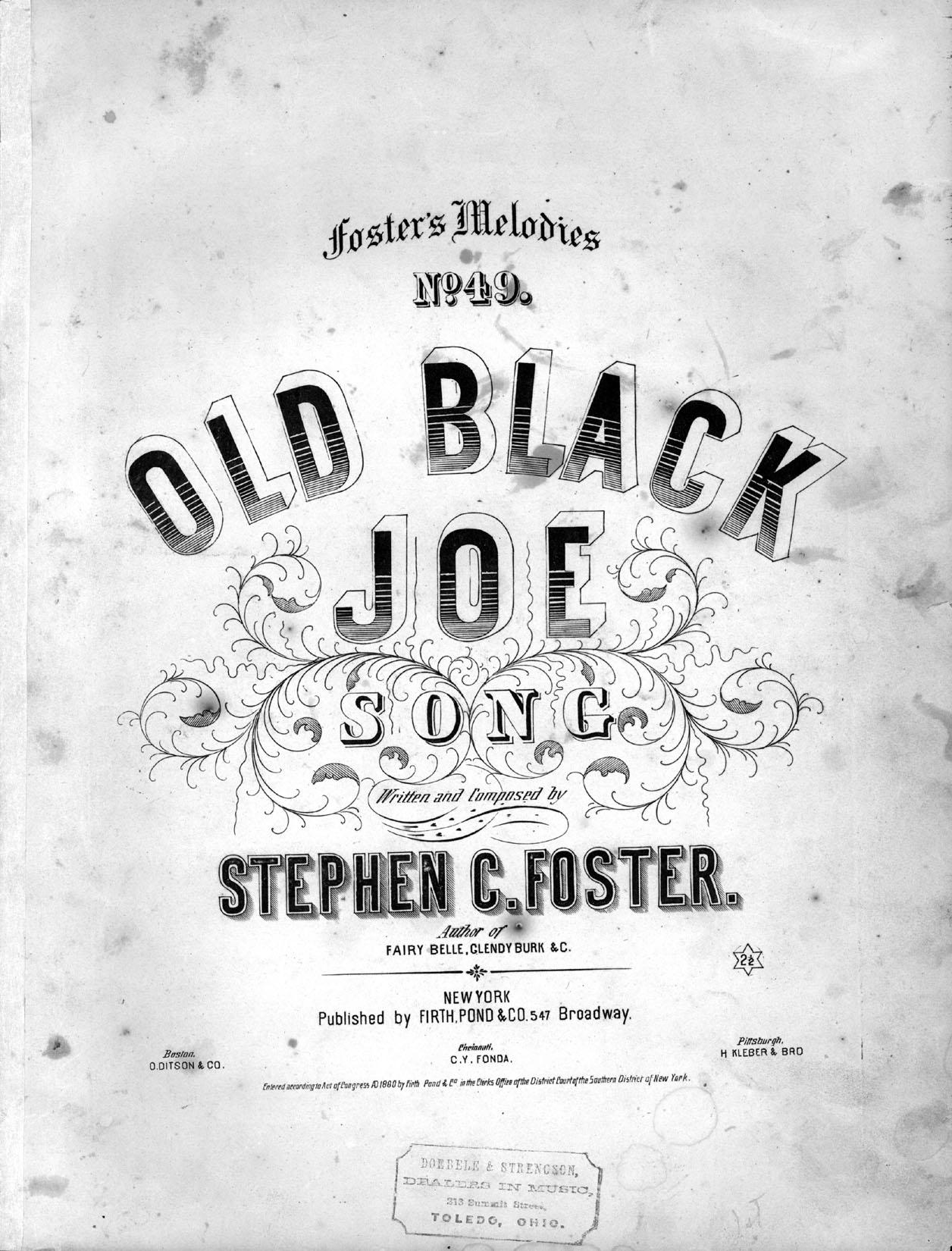Old black joe wikipedia