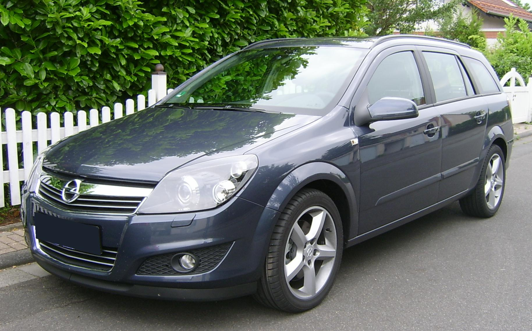 datei opel astra caravan facelift front jpg wikipedia. Black Bedroom Furniture Sets. Home Design Ideas