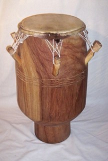 A Togolese drum.
