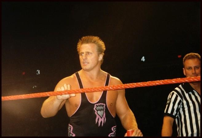 Owen Hart Funeral Vince Hart in 1997