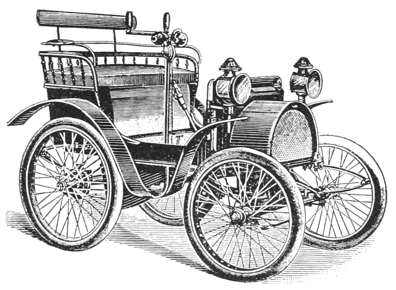 Voiturette Renault - domaine public