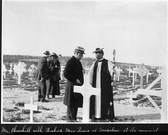 File:PikiWiki Israel 14204 Churchill meeting with the Bishop of  Jerusalem.jpg
