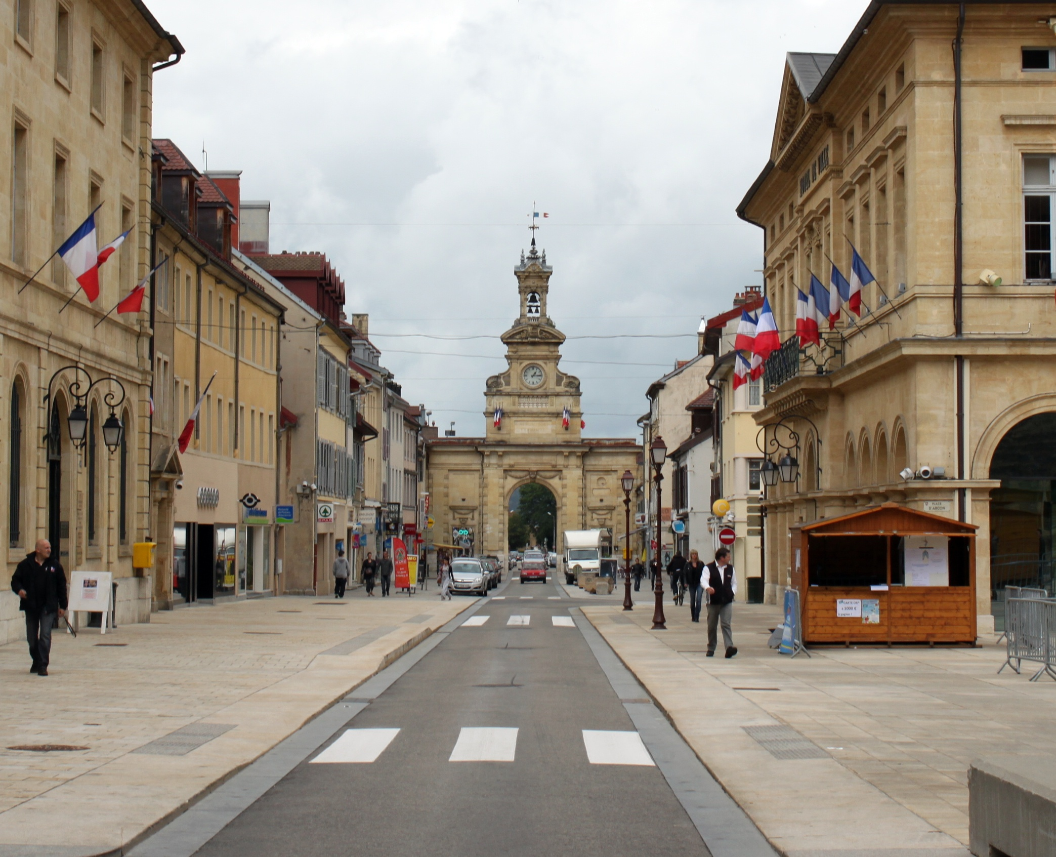 Pontarlier France  city photos gallery : Pontarlier Porte Saint Pierre 7 Wikimedia Commons