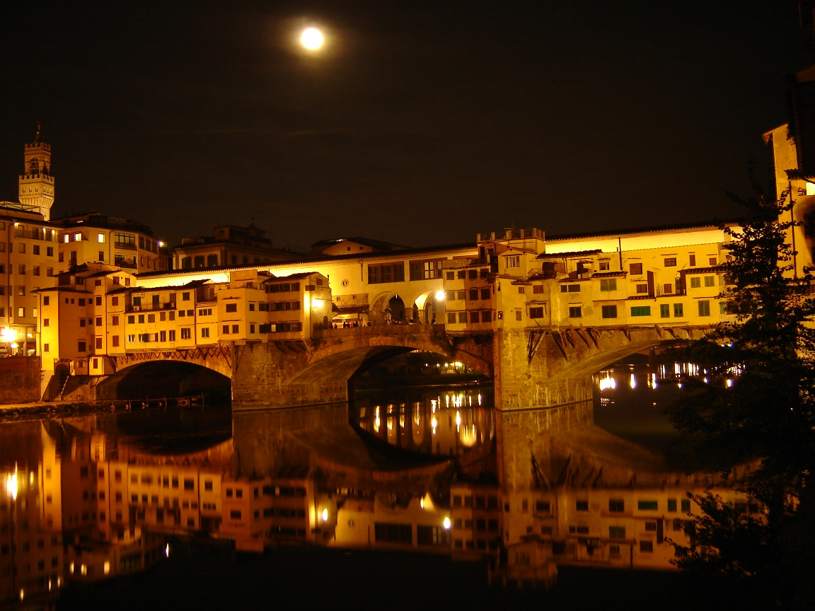 File:Ponte vecchio at night.JPG - Wikimedia Commons
