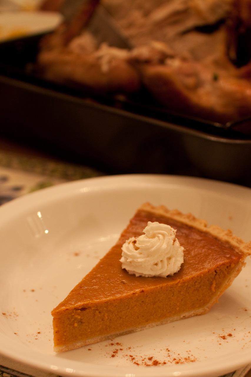 Pumpkin Pie In A Cake Pan
