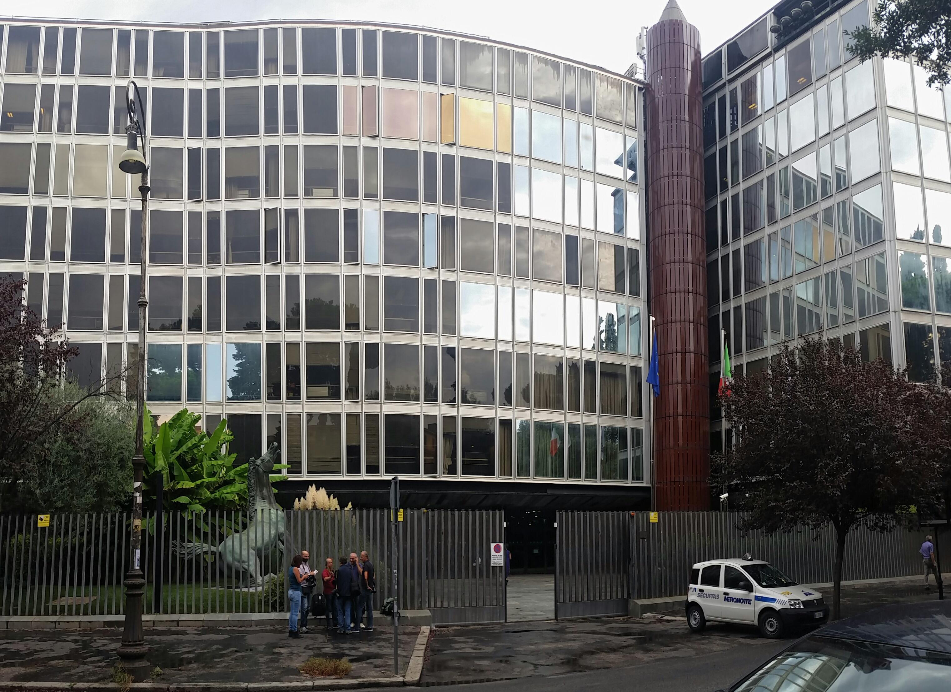 RAI sede centrale di Roma Viale Mazzini