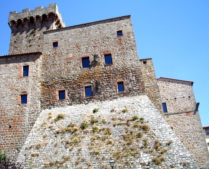 Rocca aldobrandesca di Arcidosso (GR)