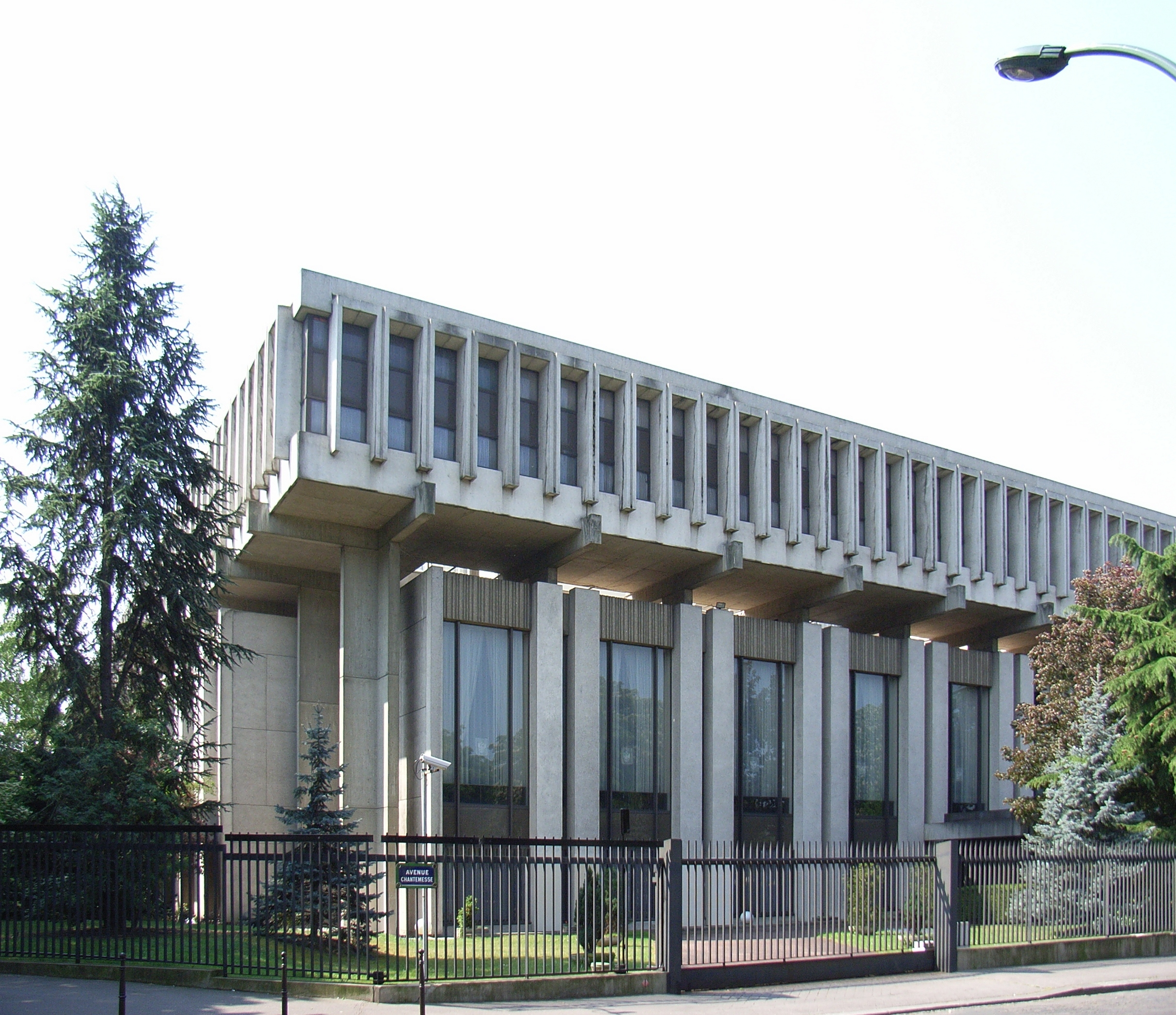 the russian embassy in