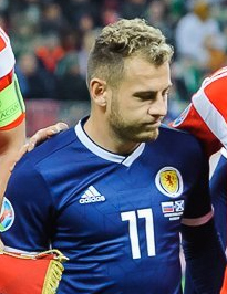 Image from Millsy's View of AFC Bournemouth's Ryan Fraser in his Scotland kit
