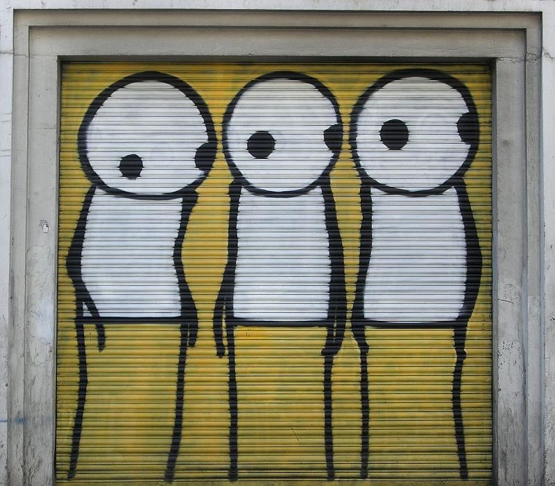 Artist Who Paints Stick Figures