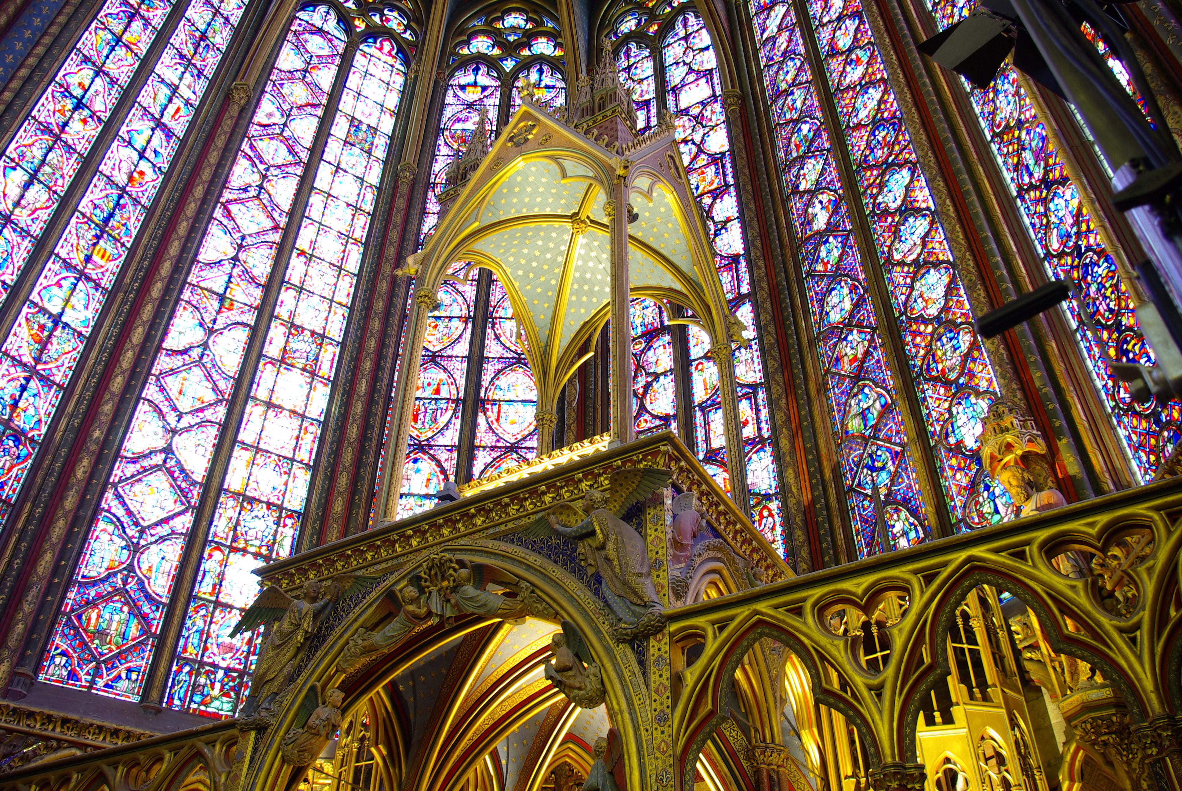 FileSainte Chapelle De Paris Interior
