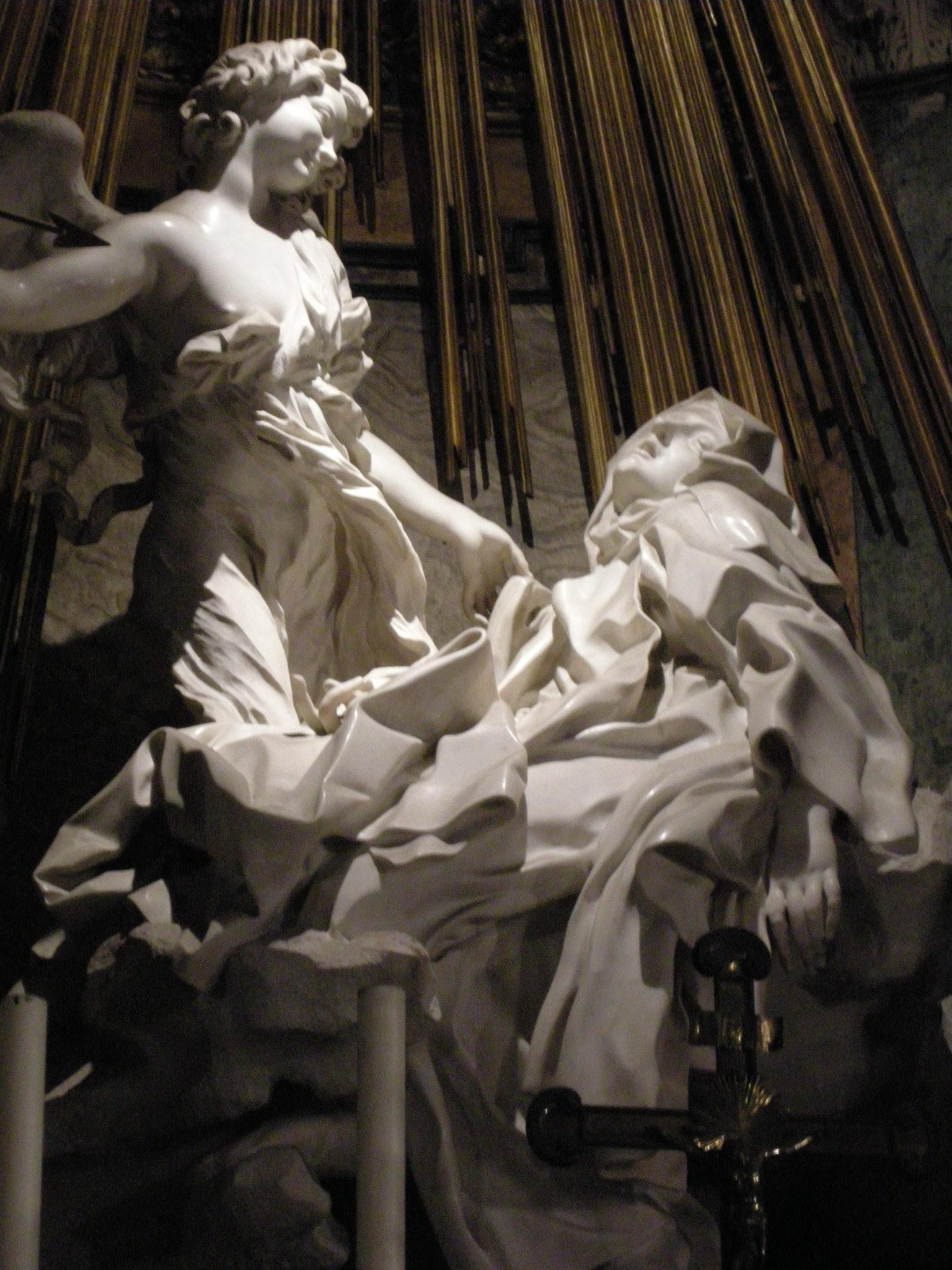 Description Santa teresa di bernini 03 JPGBernini St Teresa Painting