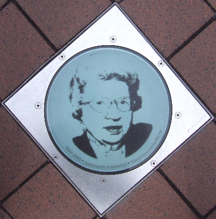 Glass plate in the Bonngasse; Bonn, Germany