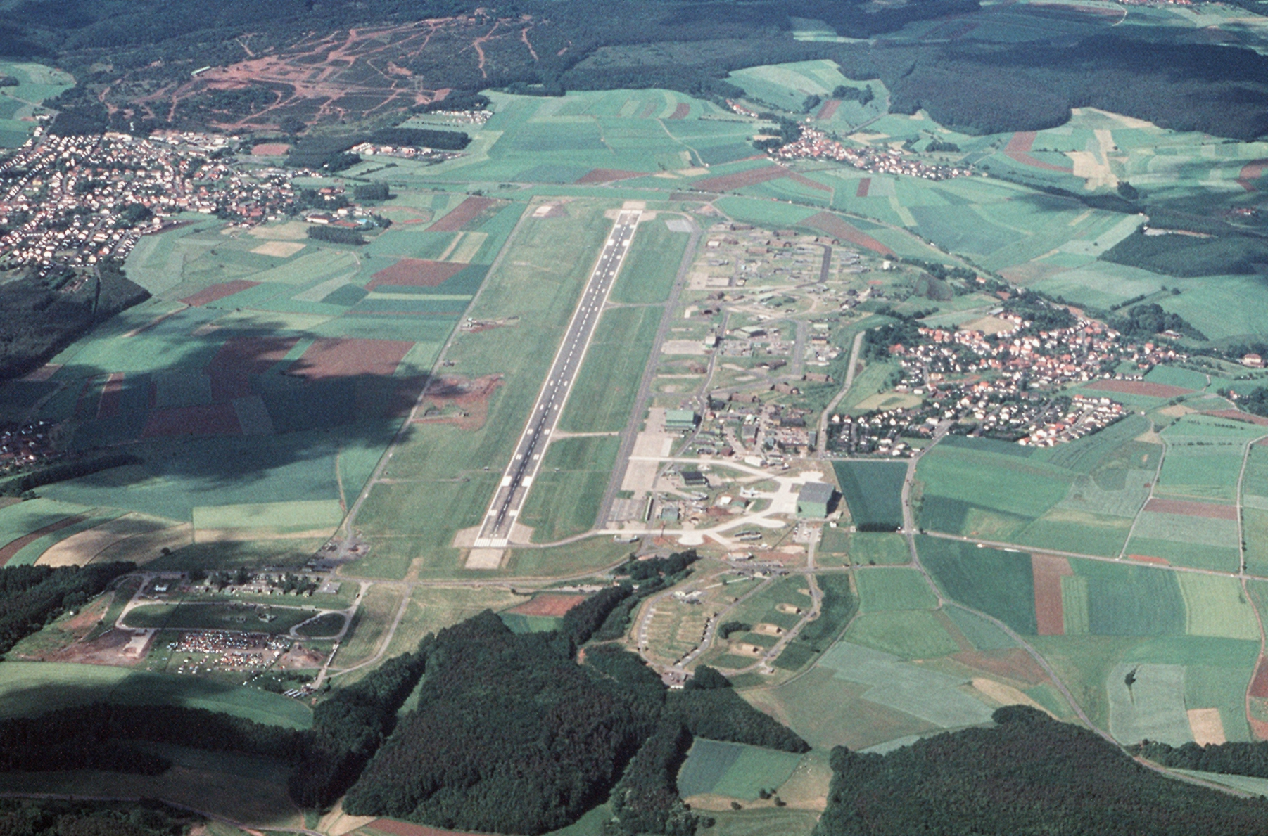 Map Of Germany Us Air Force Bases.File Sembach Air Base Aerial View 1989 Jpeg Wikimedia Commons