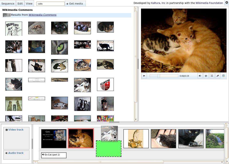 Kaltura HTML5 Sequencer