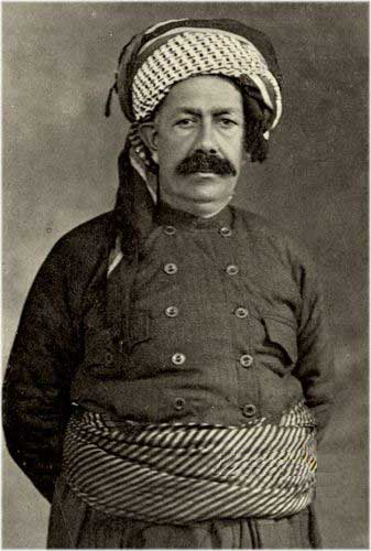 Sheikh Mahmud Barzanji who led Kurdish uprising which were put down by the British who were the first to use gas, long long before Saddam Hussein.
