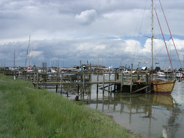 Southwold Harbour - geograph.org.uk - 18120