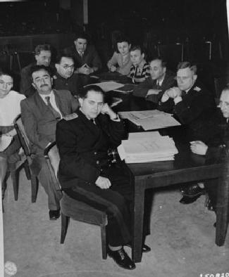 Файл:Soviet prosecution team at nuremberg trial.jpg