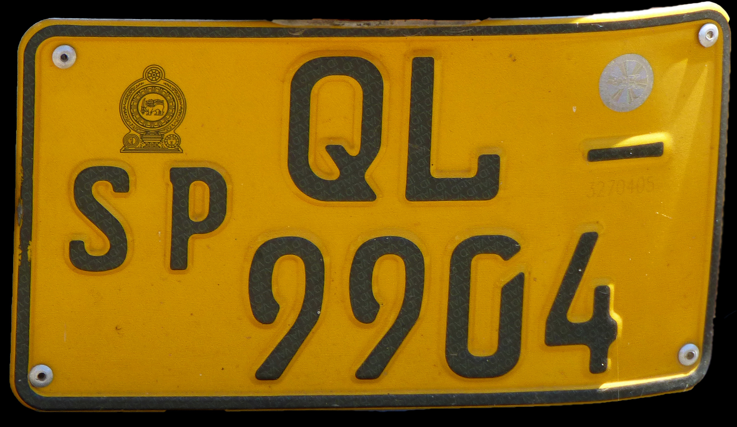 Vehicle registration plates of Sri Lanka - Wikipedia