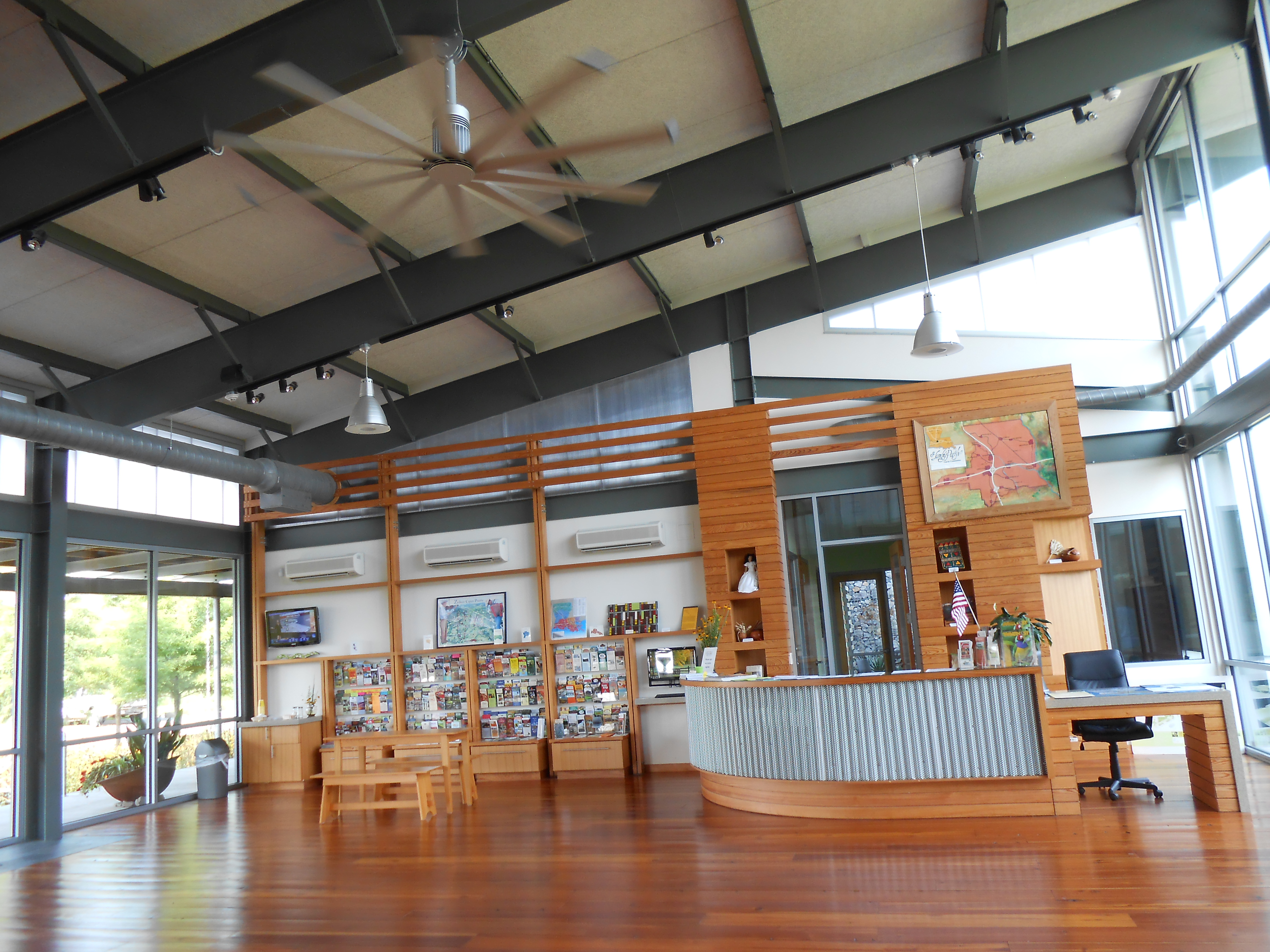 File St Landry Parish Visitor 39 S Center Interior Jpg