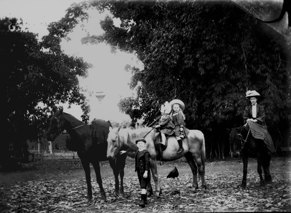 file statelibqld 2 160928 women and children riding horses