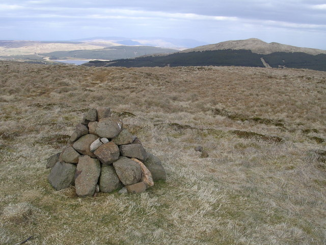 Summit of Lecket Hill - geograph.org.uk - 160253